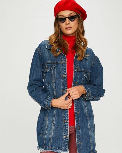 Джинсовая куртка оверсайз с карманами Answear