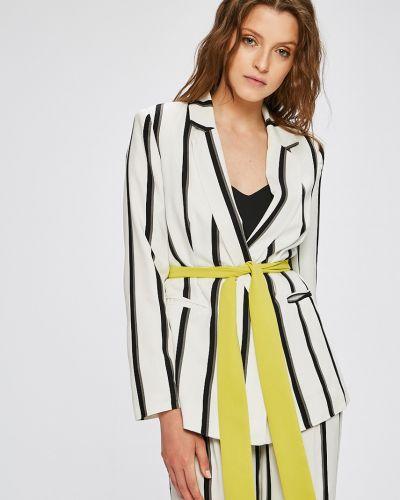 Классический пиджак с поясом прямой Trendyol