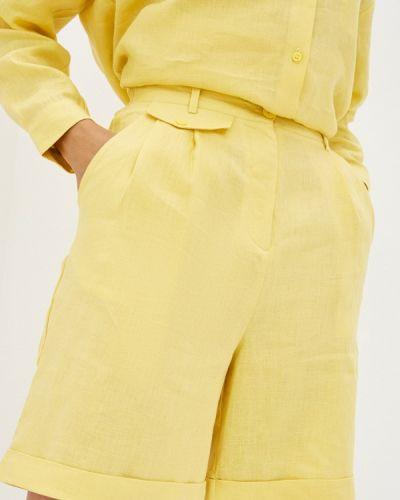 Желтые повседневные шорты Unq