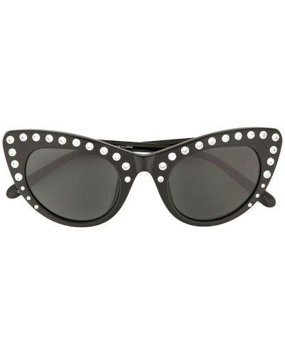 Солнцезащитные очки кошачий глаз с логотипом N21