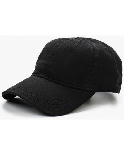 Черная бейсболка Lacoste