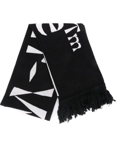 Czarny szalik Off-white