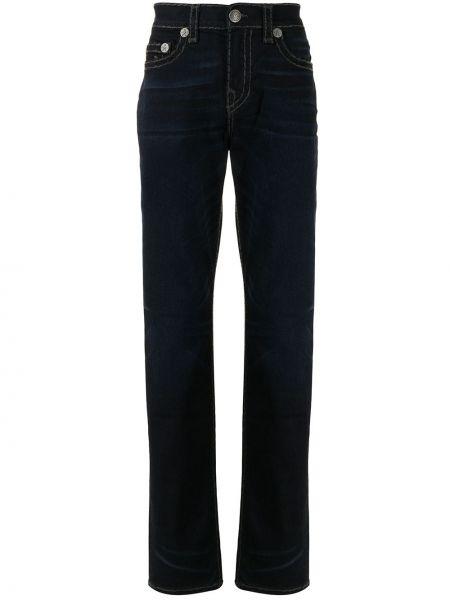 Прямые джинсы - синие True Religion