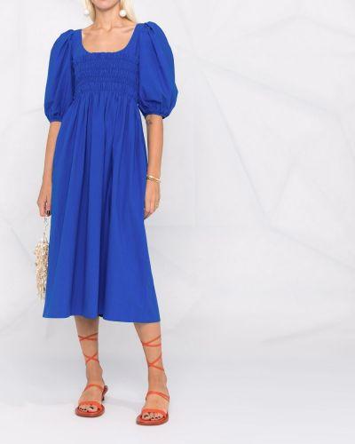 Niebieska sukienka mini bawełniana Ciao Lucia