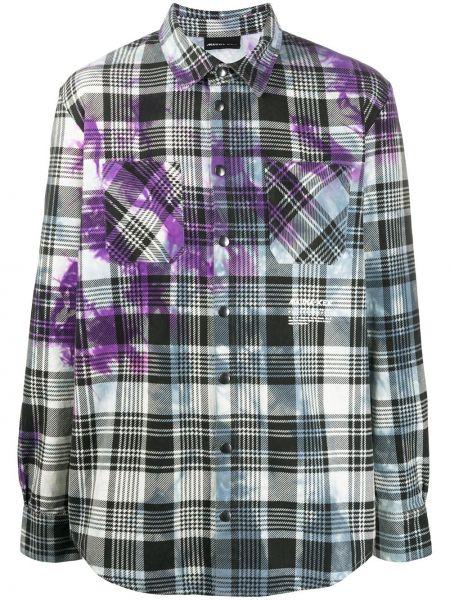 Классическая фиолетовая рубашка с воротником на кнопках Mauna Kea