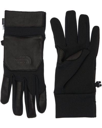 Czarne rękawiczki skorzane The North Face