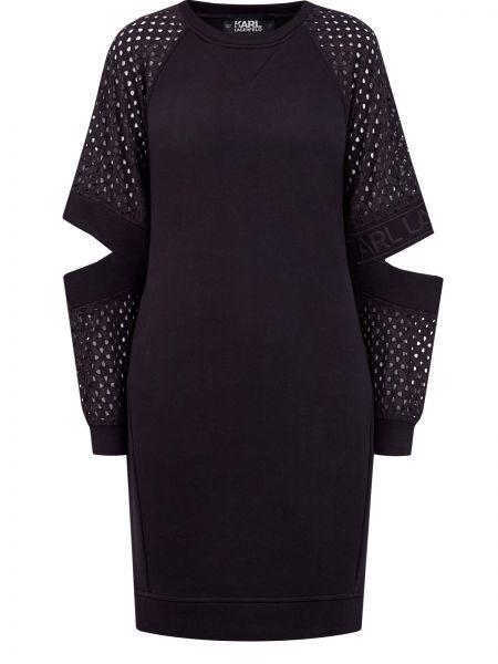 Платье с логотипом Karl Lagerfeld