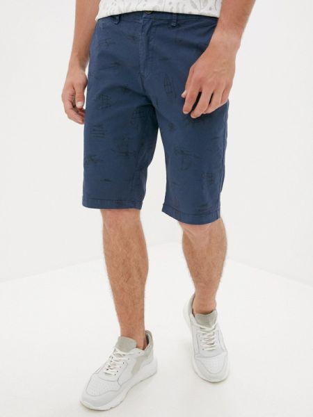 Синие повседневные шорты Qwentiny