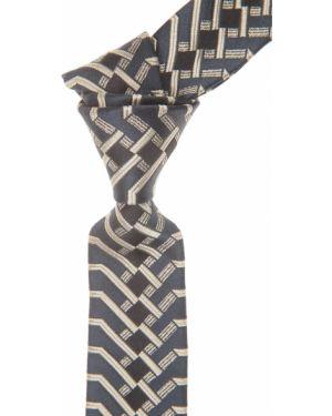Szary krawat z jedwabiu Christian Lacroix