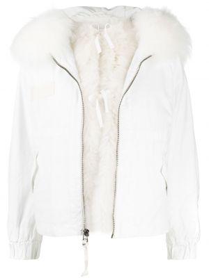 Куртка с капюшоном - белая Mr & Mrs Italy