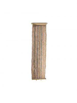 Шелковый золотистый желтый браслет Carolina Bucci