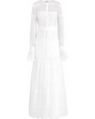 Платье макси в горошек платье-комбинация A La Russe