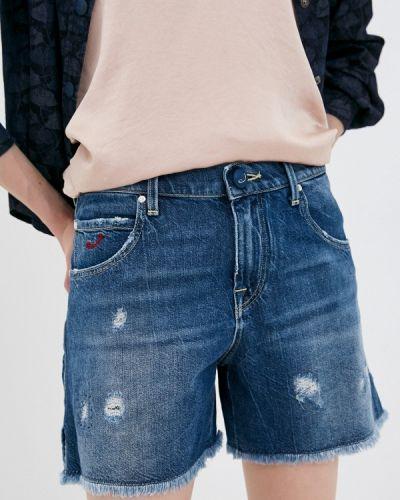 Синие джинсовые шорты Jacob Cohen