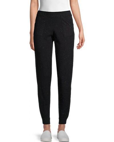 Повседневные черные брюки с накладными карманами 525 America