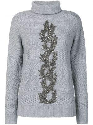 Кашемировый свитер - серый Jo No Fui