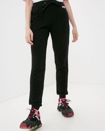 Черные спортивные брюки Moschino Swim
