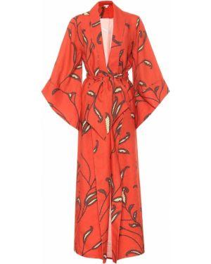 Kimono z kwiatowym nadrukiem lato Johanna Ortiz