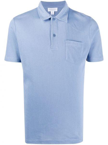 Koszula krótkie z krótkim rękawem klasyczna prosto Sunspel
