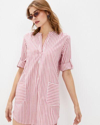 Пляжное розовое пляжное платье Deseo