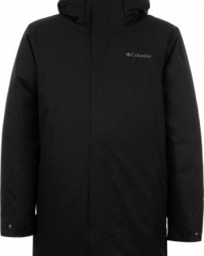 Длинная куртка утепленная с капюшоном Columbia