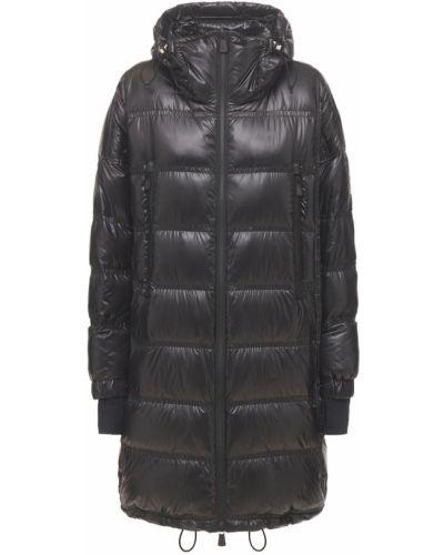 Черная куртка с карманами Moncler Grenoble