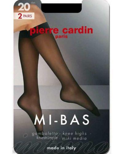 Гольфы - черные Pierre Cardin