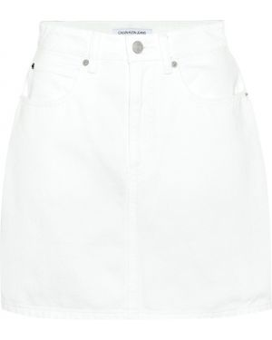Юбка мини джинсовая пачка Calvin Klein Jeans