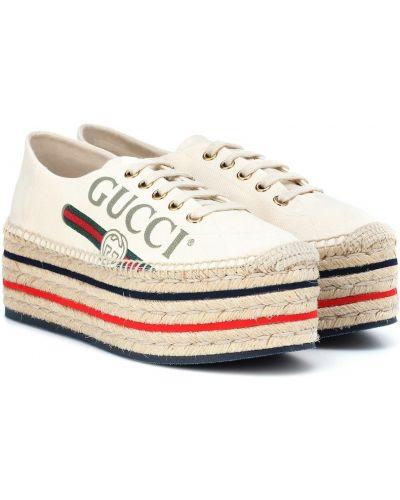 Espadryle Gucci