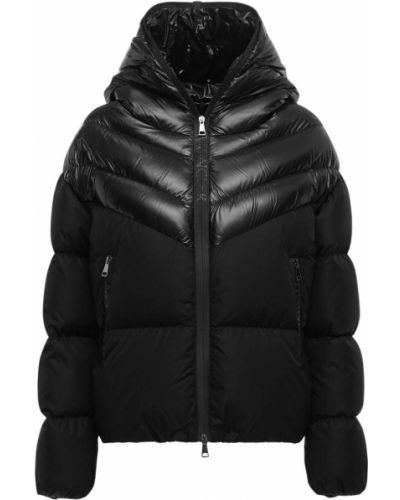Нейлоновая куртка с капюшоном на молнии двусторонняя Moncler