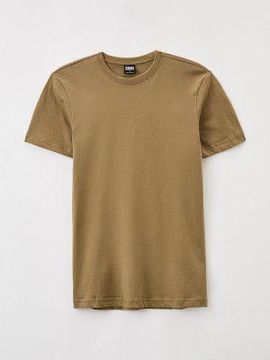 Городская зеленая футболка с короткими рукавами Urban Classics