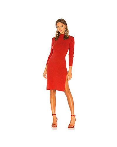 Платье с разрезами по бокам вязаное Lpa