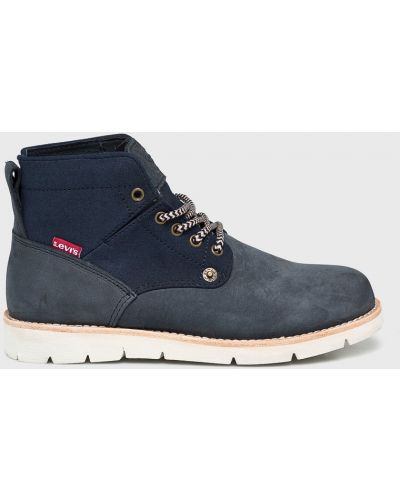 Кожаные сапоги на шнуровке теплые Levi's®