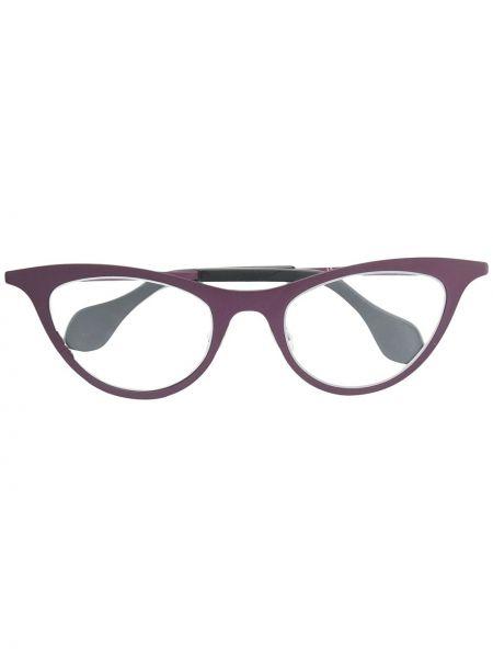 Розовые очки металлические Theo