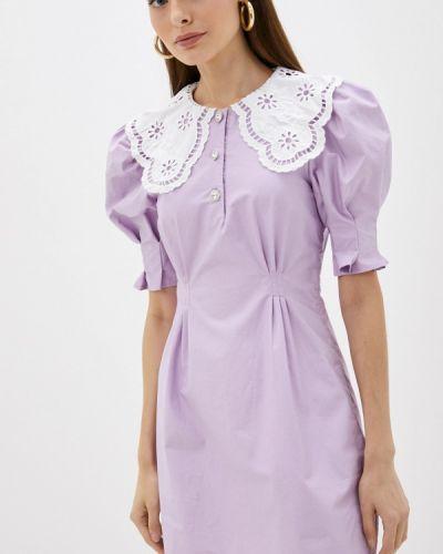 Прямое платье - фиолетовое Sister Jane