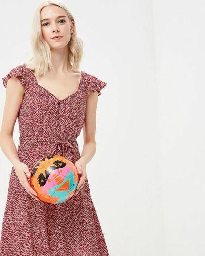 Красное платье весеннее Glamorous