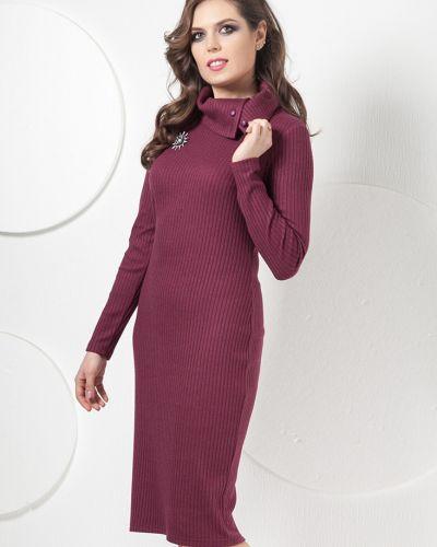 Теплое платье лапша на пуговицах Modellos