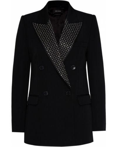 Пиджак шерстяной двубортный Isabel Marant