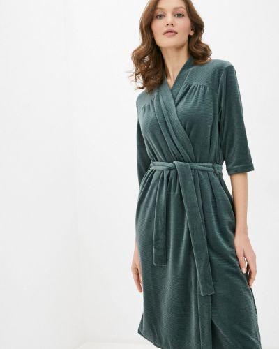 Зеленый домашний халат Griol