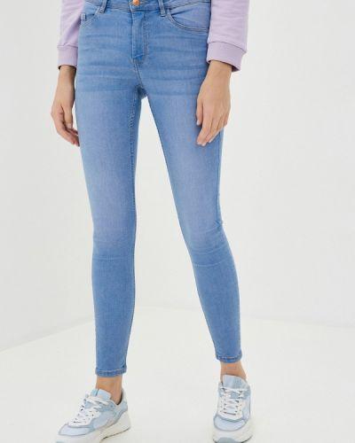 Синие джинсы-скинни узкого кроя Pimkie
