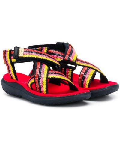 Сандалии для обуви открытый Little Marc Jacobs