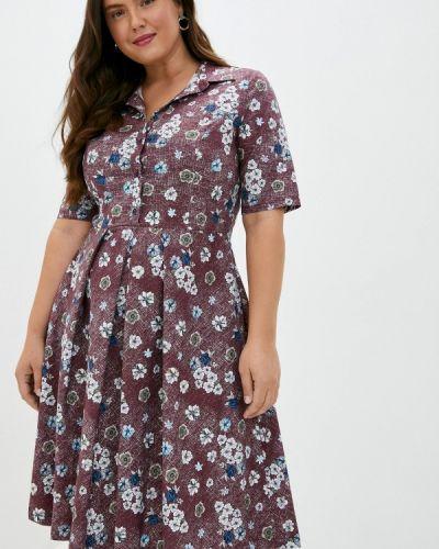 Коричневое повседневное платье Borboleta