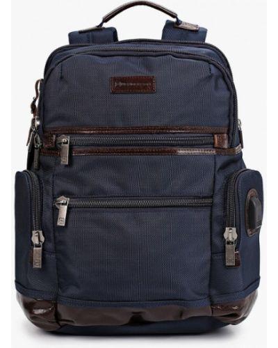 Нейлоновый синий городской рюкзак Henderson