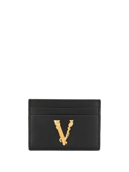 Черный кошелек Versace