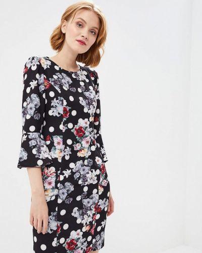 Черное весеннее платье Madeleine