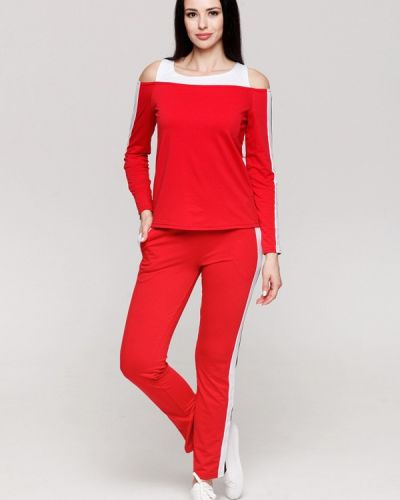 Спортивный костюм красный Karree