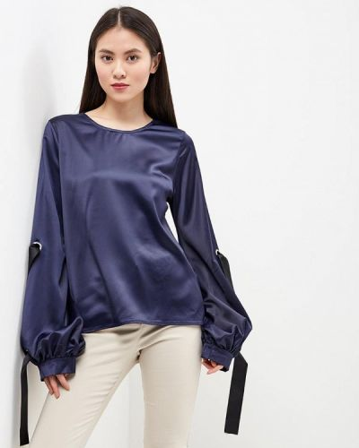 Синяя блузка Brigitte Bardot