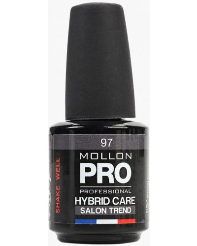 Лак для ногтей серый осенний Mollon Pro