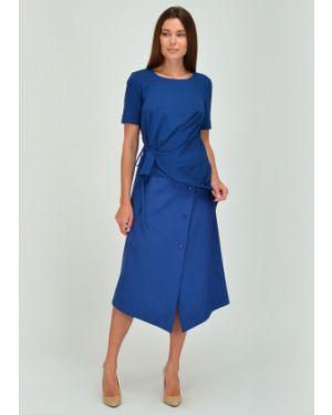 Платье миди на запах Viserdi