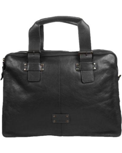 Черная сумка на молнии Gianni Conti