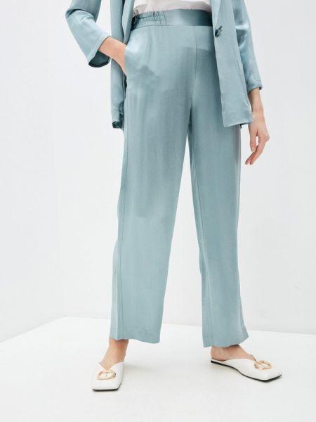 Бирюзовые повседневные брюки Alessandro Dell'acqua